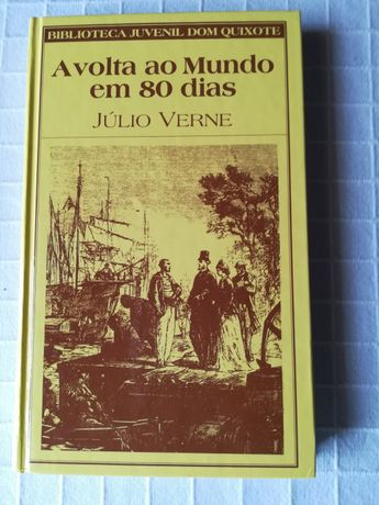A volta ao mundo em 80 dias- Júlio Verne