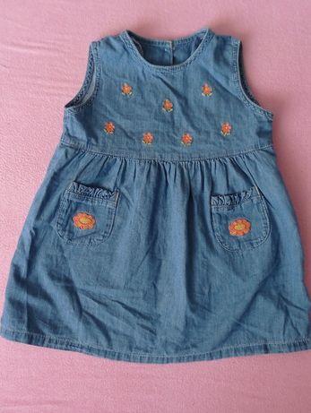 Sukienka 86 bawełna Ala jeans