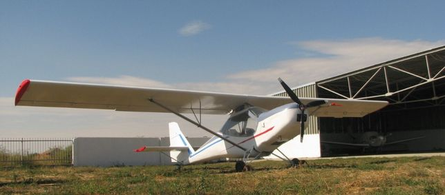 двухместный самолёт
