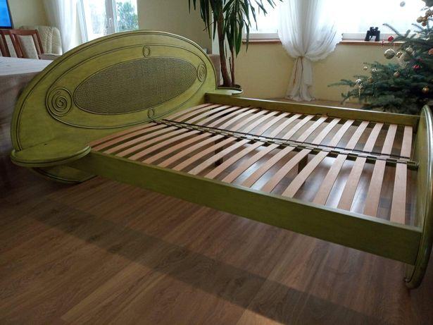 Łóżko dębowe 180x200