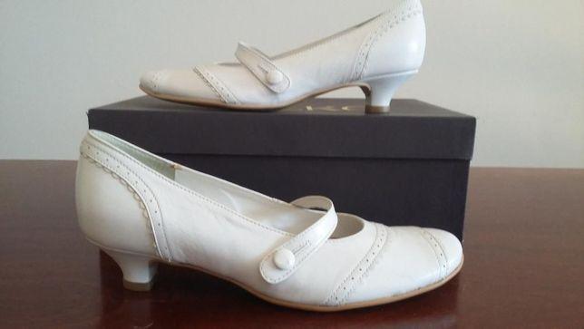 Ślubne białe buty Ryłko, 35,5, nowe
