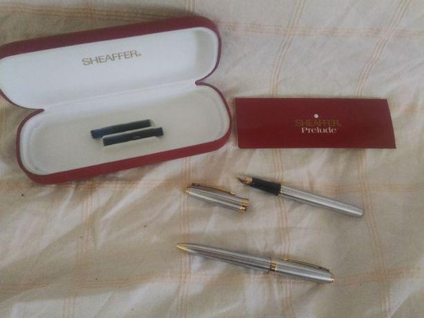 caneta de aparo + esferográfica Sheaffer Prelude