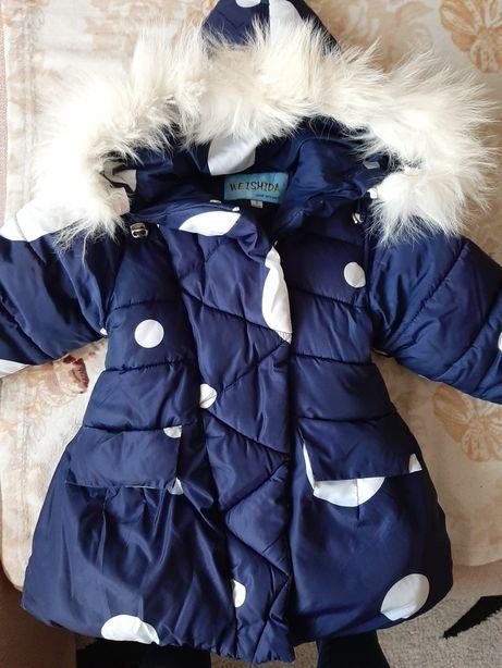 Зимова курточка дуже тепла