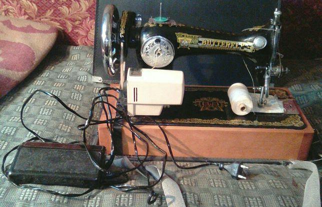 Швейная машинка Butterfly с электроприводом
