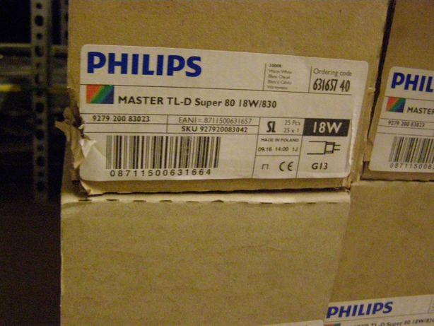 Świetlówki Philips Master 18W/830