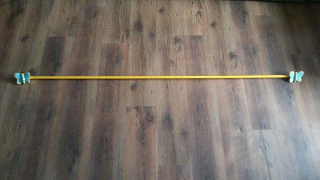 Karnisz do pokoju dziecięcego, długość 180 cm