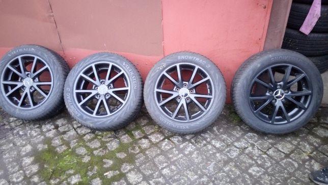 "Felgi aluminiowe VW audi Mercedes .czarne 16"" 5x112. Et47"