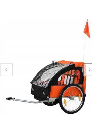Wózek doczepiany do roweru