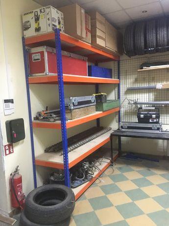 Regały sklepowe magazynowe biurowe regał do garazu sklepu katownik na