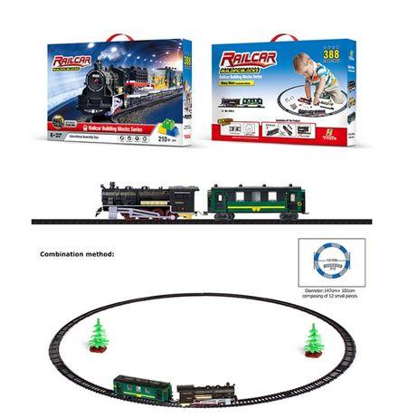 Железная дорога конструктор ТМ FENFA арт. 1608-2