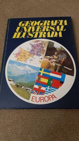 Livros Geografia Universal e Guerra no Mundo