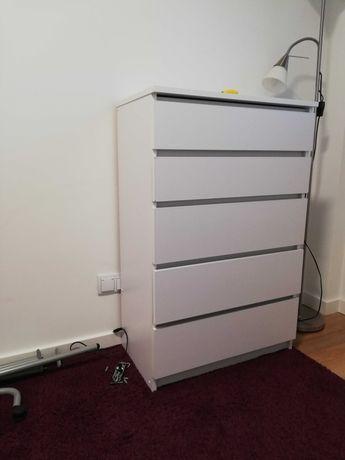 komoda ala Ikea Malm biała 70x109 cm