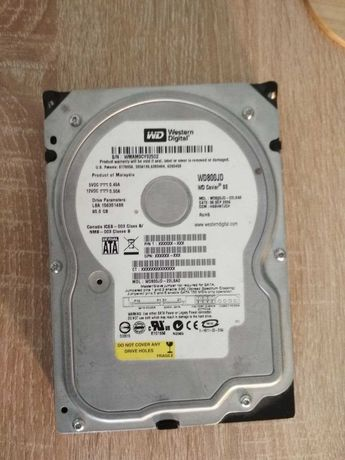 HDD WD 3.5'' 80Gb SATA