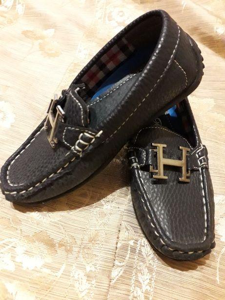 Туфли мокасины размер 25