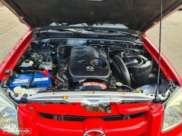 Motor Mazda B2500 2.5Td 110cv WL-T Caixa de Velocidades Arranque + Alternador Arcondicionado