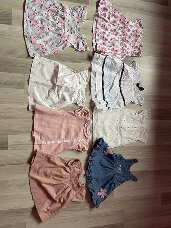Sprzedam sukienki 68-75