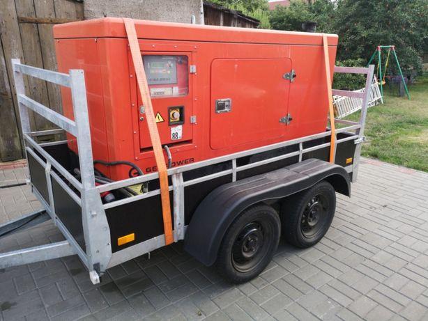 Agregat generator prądotwórczy 25kw, 32kVa Wynajem