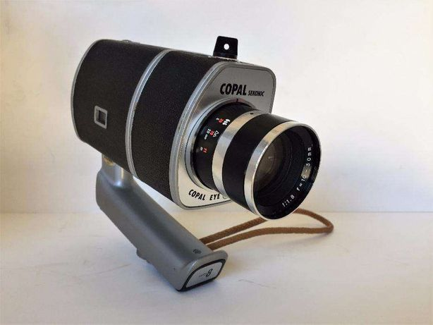 Câmera de filmar, Super 8mm. Sekonic-Copal Eye 300