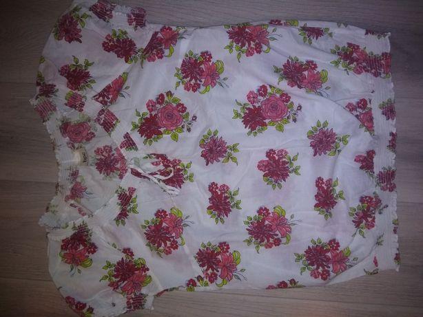 Bluzka kwiatowy wzór