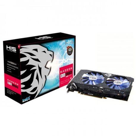 Видеокарта His Radeon Rx 570 Iceq X2 Oc 4Gb 256Bit Gddr5 (1264/7000) (