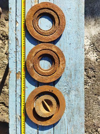 Конфорки чугунные кольца для плиты печи буржуйки