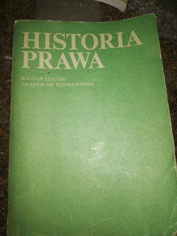 Historia prawa Lesiński Rozwadowski