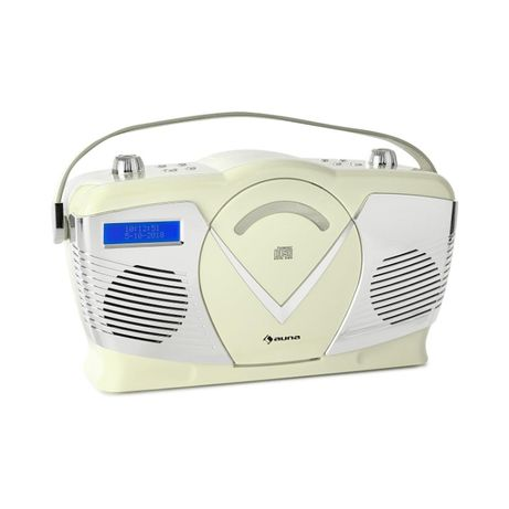 Auna RCD-70 DAB Radio retro CD UKF DAB+ odtwarzacz CD USB Bluetooth