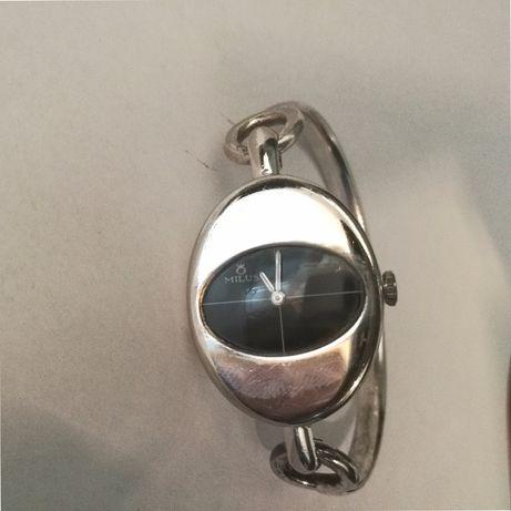 zegarek Milus szwajcarski, mechaniczny,srebro 800