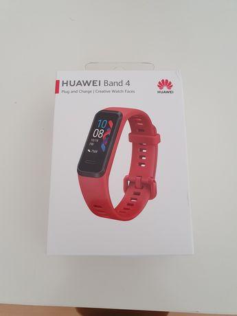 Opaska Huawei Band 4 (ADS-B29) Red