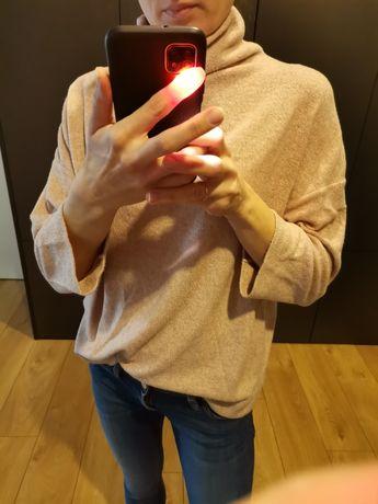 Sweter r. M pudrowy róż
