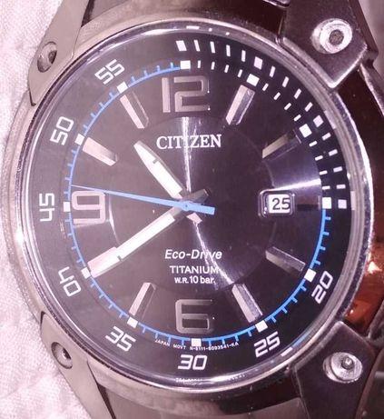Citizen eco - drive titanium w.r. 10 bar