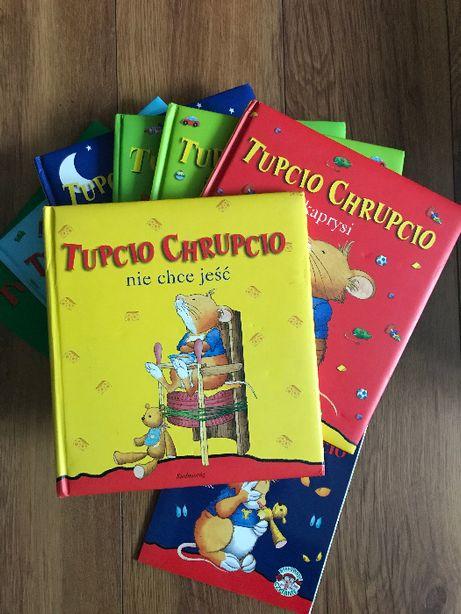 Książki książeczki Tupcio Chrupcio 8szt