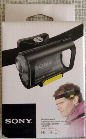 Новое крепление на голову для экшен камеры SONY HDR-AS200V