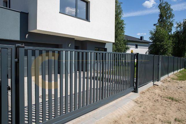 Bramy przesuwne wjazdowe - brama ogrodzeniowa - wiele modeli do wyboru