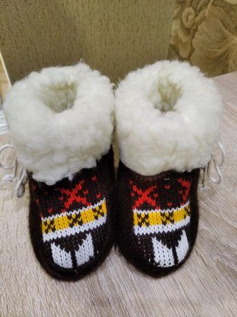 Чуни (тапочки, ботиночки) детские для дома