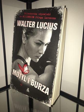 "Książka ""Motyl i Burza"" Walter Lucius (2017) (KRYMINAŁ, THRILLER)"