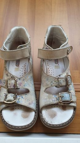 Ортопедические босоножки, сандали для девочки, 33р. Турция,