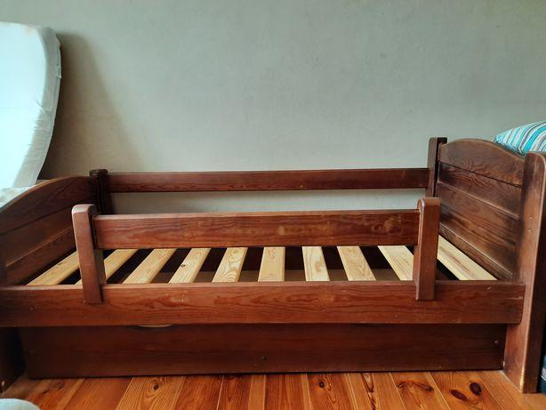 Łóżko 70x140 midi skrzynia barierka łóżeczko BELTOR