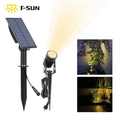 Светильник на солнечной батарее T-SUN IP65 6000K кабель 3м