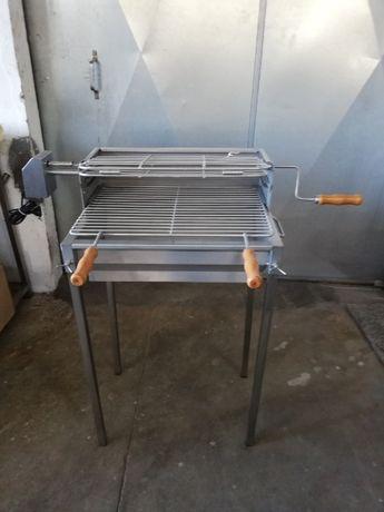 Churrasqueiras em Aço Inox com motor