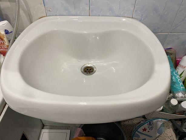 Раковина в ванную умывальник 55 см ширина
