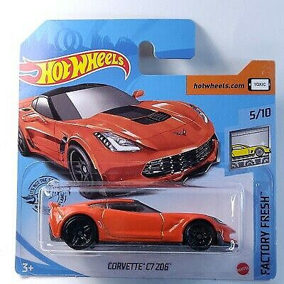 Hot Wheels - Corvette C7 Z06, 2020
