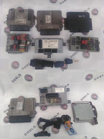 Блок управления двигателем комфорта 1.3 1.4 1.9 мозги ЭБУ Добло Doblo