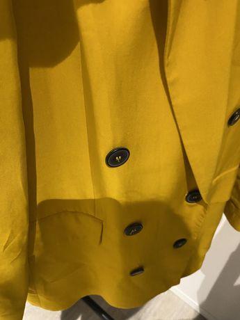 Blazer zara amarelo mostarda xs
