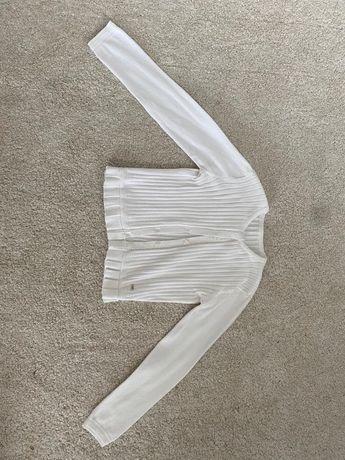 Biały sweterek / bolerko Mayoral rozmiar 128