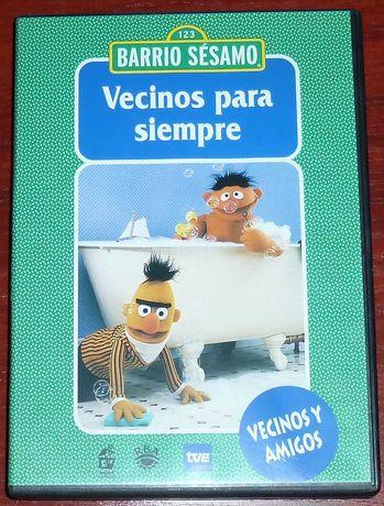 Ulica Sezamkowa DVD Język Hiszpański nr 17