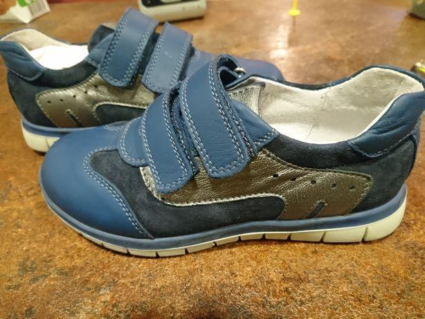 Туфли, сменная обувь, кожа