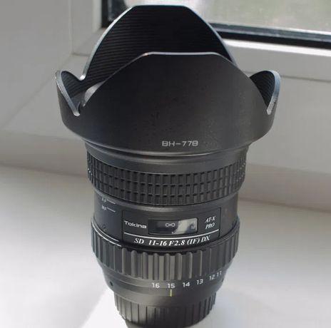 Tokina AT-X 116 PRO SD 11-16mm F2.8 DX (Nikon)