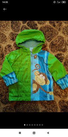 Куртка дождевик для мальчика