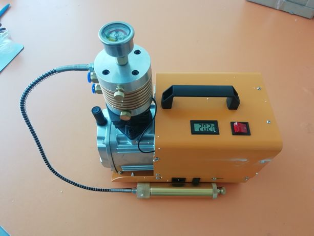 Электрический компрессор (ВД) ВЫСОКОГО ДАВЛЕНИЯ 300 АТМ НАСОС PCP